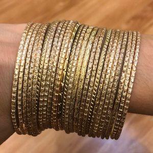 Jewelry - Gold Bangle Set